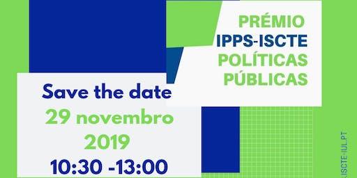 Entrega do Prémio IPPS-ISCTE Políticas Públicas