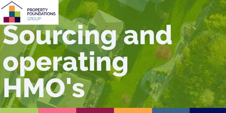Sourcing and Operating HMOs  tickets