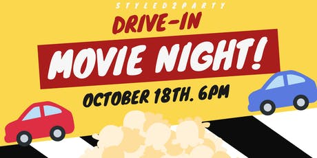Kids Drive-In Movie Night! Kids Car included! tickets