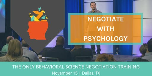 Using Psychology to Negotiate