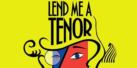 Lend Me A Tenor Dinner Theater tickets