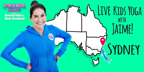 Live Kids Yoga with Jaime in Sydney tickets