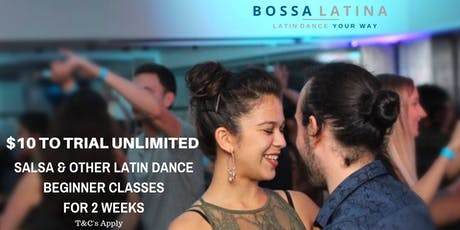 Come & Try Salsa & Other Latin Dance Beginner Classes tickets