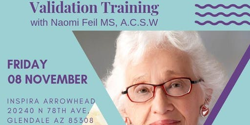 Validation Training with  Naomi Feil, MS A.C.S.W