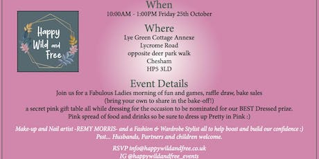 WEAR IT P!NK! Raffle Draw, Make Up Artist, Stylists, Florist, Food & Drink! tickets