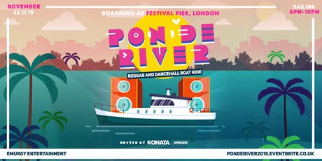 Pon De River - The Reggae and Dancehall Boat Ride tickets