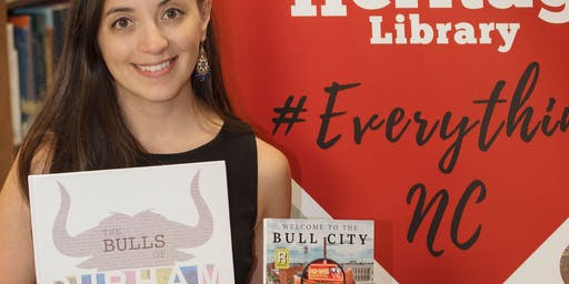 #EverythingNC: Author Series - Sheila Amir | The Bulls of Durham