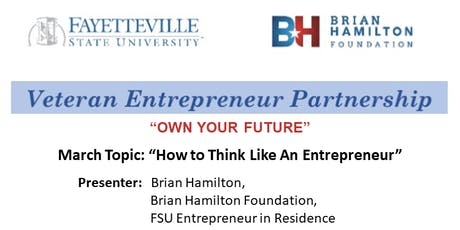 """""""How to Think Like An Entrepreneur"""" tickets"""