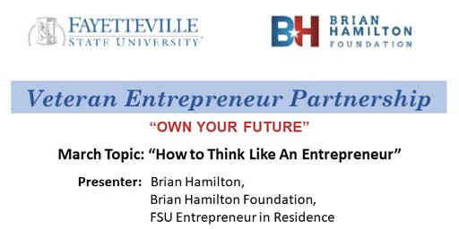 """""""How to Think Like An Entrepreneur"""""""