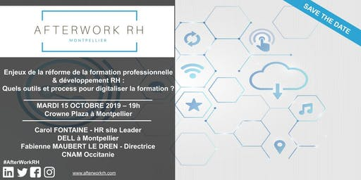 AfterWork RH Montpellier - Digitalisation de la formation professionnelle