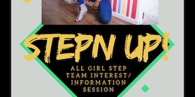 Step Team Information Session