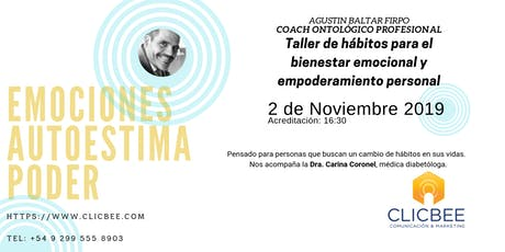 Emponderamiento Personal: Coach Agustin Baltar Firpo. tickets