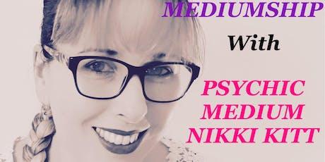 Evening of Mediumship with Nikki Kitt - Bristol tickets