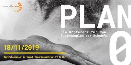 PLAN ZER0 - Die Konferenz für den Businessplan der Zukunft Tickets