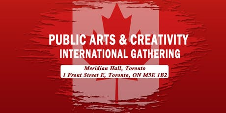 PUBLIC ARTS & CREATIVITY INTERNATIONAL GATHERING tickets
