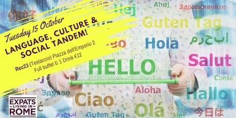 Tuesday Language, Culture & Social Tandem! biglietti