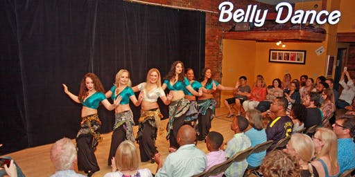 Belly Dance Studio Show - featuring amazing Belly Dancers of Atlanta