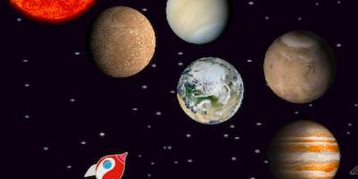 Winter-Workshop: Digital Art - Redys Reise zum Mond