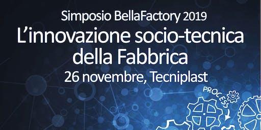 Simposio BellaFactory 2019 - 26 novembre 2019