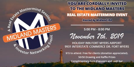 Midland Masters 2019: A Real Estate Mastermind Session tickets
