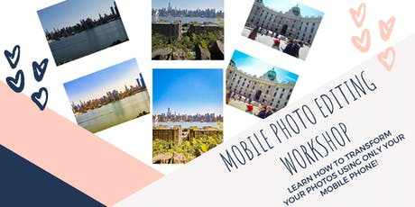 Mobile Photo Editing Workshop tickets
