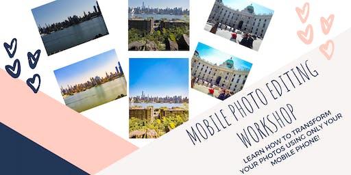 Mobile Photo Editing Workshop