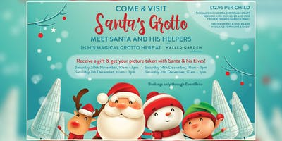 Santa's Grotto at The Walled Garden