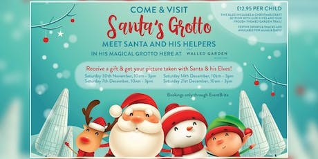 Santa's Grotto at The Walled Garden tickets