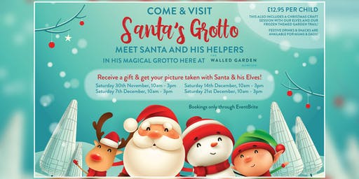 Santa's Grotto at The Walled Garden