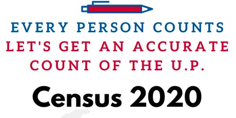Census 2020: The U.P. Counts tickets