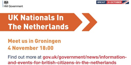 UK Nationals Outreach Event - Groningen