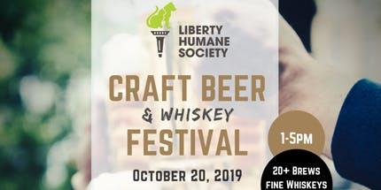 Liberty Humane Society Craft Beer & Whiskey Festival 2019