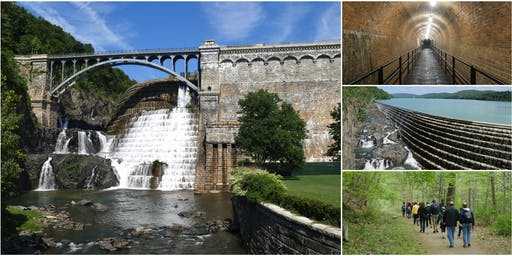 Old Croton Aqueduct Trail Hike with Rare Access Inside Abandoned Weir