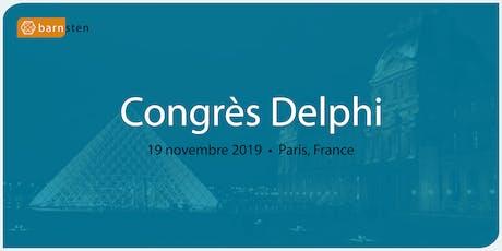 Congrès Delphi billets