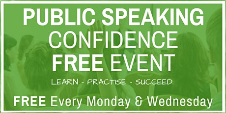Public Speaking & Presentation Skills: FREE Friendly ONLINE Weekly Classes tickets