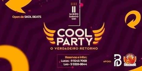 COOLPARTY 3 - O VERDADERO RETORNO ingressos