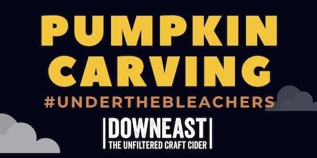 Pumpkin Carving #UnderTheBleachers tickets