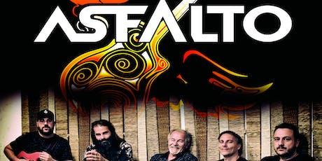 """ASFALTO presenta """"ART & ROCK TOUR"""" / Zaragoza entradas"""