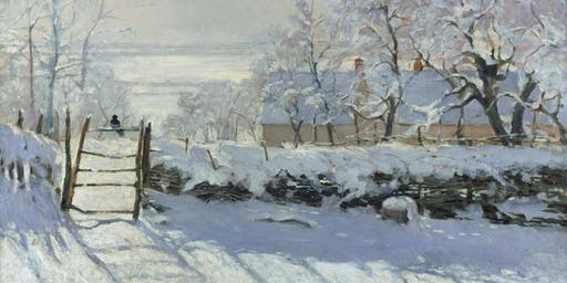 Painting the Winter Landscape Recreate Monet's The Magpie
