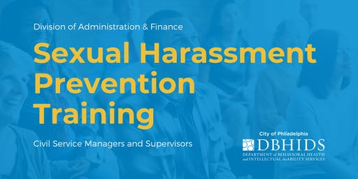 Mandatory Sexual Harassment Training