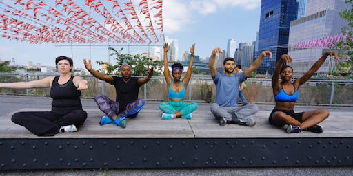 Yoga on The Water Front: Restorative with @jaspirituals!