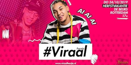 Viraal Feestje #12 Freddy Moreira (herfstvakantie) tickets