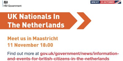 UK Nationals Outreach Event - Maastricht