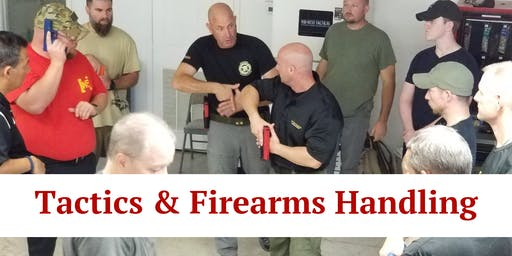 Tactics and Firearms Handling (4 Hours) Monahans, TX (Closed)