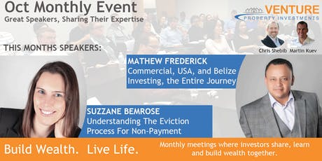 The Eviction Process and Hitting your Next Investing Milestone - Oct 23rd, 2019 tickets