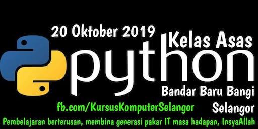 Kursus Asas Pengaturcaraan Python (Programming)