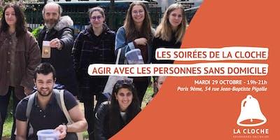 """Form'action La Cloche """"Aller Vers"""" - Agir avec les personnes sans domicile"""