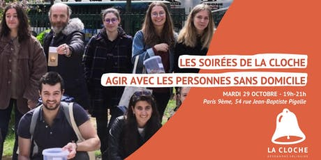"""Form'action La Cloche """"Aller Vers"""" - Agir avec les personnes sans domicile billets"""
