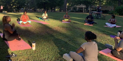Happy Hour Yoga in the Park