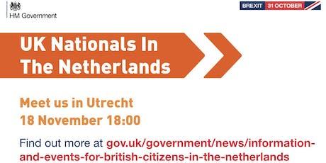 UK Nationals Outreach Event - Utrecht tickets